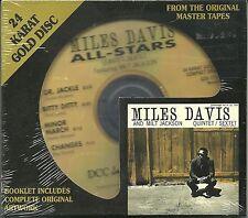Davis, Miles All-Stars Quintet/Sextet f. M. Jackson DCC GOLD CD NEU OVP Sealed