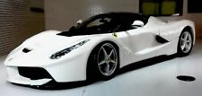 1:24 Echelle Blanc La Ferrari Détaillé Bburago Superbe Voiture Miniature Burago