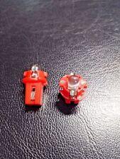B8.3D 509T RED LED Bulb 12 Volt Instrument Panel Light - Pack of 2