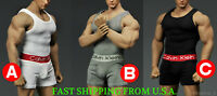 1/6 Men Tank Top Underwear Set For PHICEN M33 M34 Hot Toys Male Figure ❶USA❶