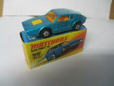Matchbox Lesney Superfast SF65 Saab Sonnett- blue, boxed