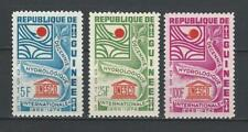 Guinea 1966 Sc#433-5  UNESCO-Hydrological Decade  MNH Set
