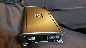 Immaculate OPEN BOX NVX VAD27001 Monoblock 3000 Watts RMS @ 1 Ohm 14.4v