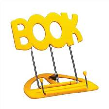 The 'BOOK' Stand Book Holder Yellow