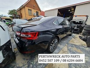 Skoda Superb NP 2017 Sedan Black Wrecking parts, panel, gearbox etc for sale