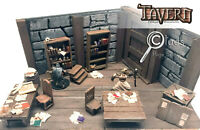 Page Scatter 8 Pack for D&D Pathfinder 100% Handmade Terrain Tavern Miniatures
