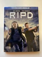 R.I.P.D. w/ Slipcover (Bluray/DVD, 2013) [BUY 2 GET 1]