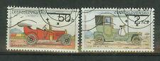 Cecoslovacchia francobolli 1988 automobile mi.nr.2947+49