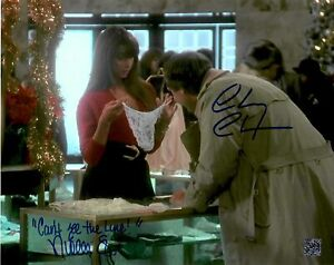 Chevy Chase - Nicolette Scorsese Dual Signed Christmas Vacation Griswold Photo
