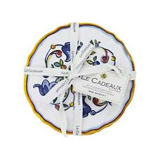 Le Cadeaux Capri Melamine Appetizer Plate Set of 4