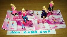 "KINDER BARBIE ""TR"" TR131 TR132 TR133 TR134 SET (4) +  BPZ"