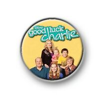 """GOOD LUCK CHARLIE / 1"""" / 25mm pin button / badge / Teddy / Gabe / PJ / Toby"""