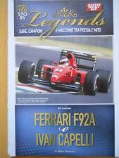 Poster Story Legends - FERRARI F92A IVAN CAPELLI  [C48]