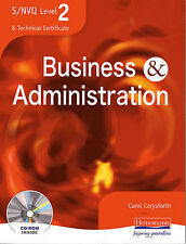 S/NVQ Level 2 Business and Administration Student Book-ExLibrary
