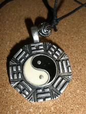 Yin Yang Charm pendant Necklace reiki jewelry new age Amulet yoga Balance Symbol