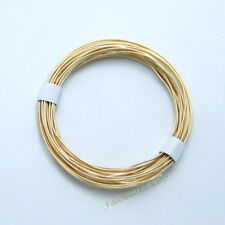 14K Gold Filled 24Ga. (0.5mm) Round Beading Wrapping Wire (Soft) 5ft. New U.S.A.