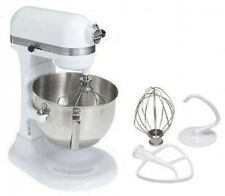 New KitchenAid HEAVY DUTY pro 500 Stand Mixer Lift ksm500qwh Metal 5-qt WHITE