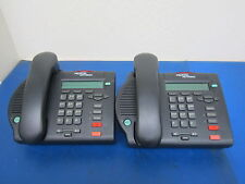 Lot of 2 Nortel Networks NTMN32BB70 Business Office Telephone - No Cords