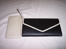 Mundi TriFold Clutch, Envelope Style,Detached Coin Purse, Ladies Wallets