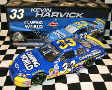 #33 KEVIN HARVICK  AUTOGRAPHED SIGNED CAMPING WORLD 1:24 DIE CAST NASCAR 2008
