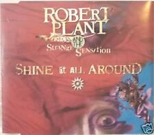 "ROBERT PLANT (LED ZEPPELIN)  ""SHINE IT ALL AROUND"" cd's promo"