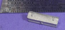 S SCALE Sn3 1/64 WISEMAN MODEL SERVICES DETAIL PARTS: S390 LARGE TOOL BOX