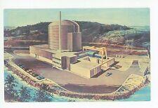 Peach Bottom Nuclear Powerplant—Artist Concept—Vintage PC Atomic Energy 1960s