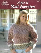 A Year Of Knit Sweaters 12 Beautiful Designs