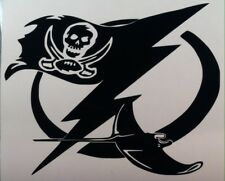 Buccaneers, Lightning, Rays #2 Vinyl Decal