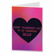 Valentines Card For Handsome Dilf