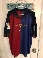 1999 Spain FC Barcelona match worn player issue jersey Guardiola shirt