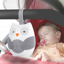 Portable Owl White Noise Sound Machine Baby Soother Sleep Helper with Strap