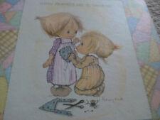 Vintage Betsey Clark Happy Memories Are To Treasure Hallmark Scrap Book 1972