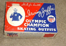 1940'S IRVING JAFFEE OLYMPICS CHAMPION ICE SKATES IN ORIGINAL BOX WITH HANG TAG