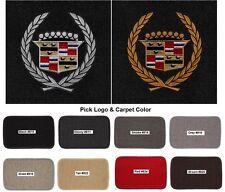 Lloyd Mats Vintage Cadillac Crest Classic Loop 4pc Logo Floor Mats (1941-2001)