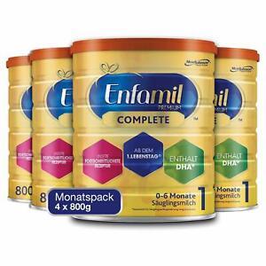 Enfamil Premium Complete 1 Säuglingsmilch Pulver Säuglinge 0-6 Monaten 4 x 800g