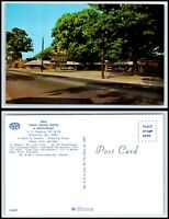 GEORGIA Postcard - Glennville, New Town House Motel & Restaurant F47