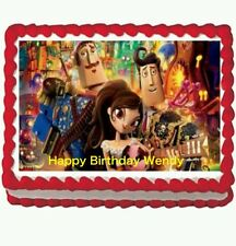 Book of Life Edible Birthday party Image Cake Topper 1/4 frosting sheet