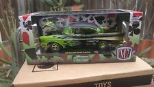M2 Machines Chase 1/500: 1957 Chevrolet Bel Air Hardtop (Wild Cards)