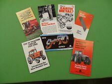 1980's International Harvester 7 Piece Foldout Advertising Brochures