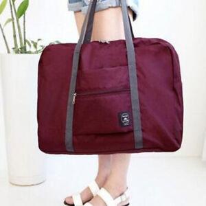 1PC Folding Travel Bag Storage Bag Portable Large-sized Duffel Bag Cube-shaped