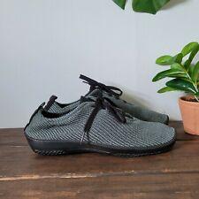 Arcopedico Synthetic Vegan Knit Shoes Blue Green EU Sz 41 US 9.5-10