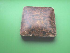 OLD  BANGLE / BRACELET BOX , APPLEYARD OF W.HARTLEPOOL