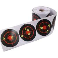 250 Pcs/Roll Shooting Adhesive Targets Splatter Reactive Target Sticker 7.5cm
