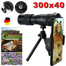 HD Monokular Teleskop Stativ Telefon Kamera Starscope 300X40mm Zoom Wandern Jagd