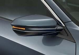 Genuine Honda side Mirror marker Turn Lamp light Clear orange LED Bulb Civic X10