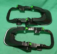 for LAND ROVER DISCOVERY SPORT FRONT BUMPER FOG LAMP HOLDERS BRACKETS PAIR
