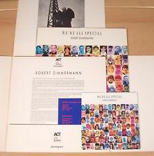 ROBERT ZIMMERMANN - We're All Special  (1988 / MAXI + EP + POSTER / NEUWERTIG)