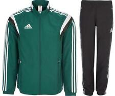 New Adidas Tracksuit Mens Woven Training Casual Track Top Pant Green size SX