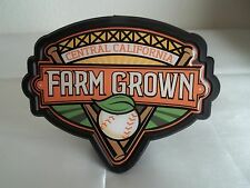 Tow hitch cover plastic Central California Farm Grown baseball bats Free Ship